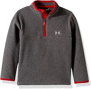 Under Armour Boys' Toddler Quarter Zip Pull Over Jacket