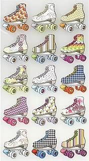 roller skating scrapbook paper