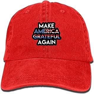 Unisex Denim Dad Hat Adjustable Plain Cap Detailed Zombie Head Style Low Profile Gift for Men Women