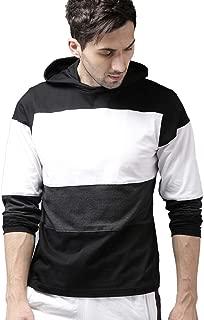PAUSE Multicolor Striped V-Neck Slim Fit Long Sleeve Men's T-Shirt