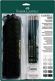 Faber-Castell Artist Graphite 9000 Drawing Set