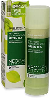 NEOGEN DERMALOGY REAL FRESH CLEANSING STICK GREEN TEA 2.82 oz / 80g