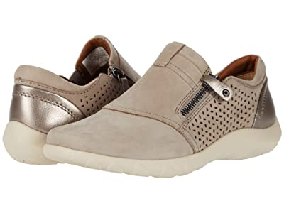 Cobb Hill Amalie Zipper Slip-On (Taupe Perf) Women