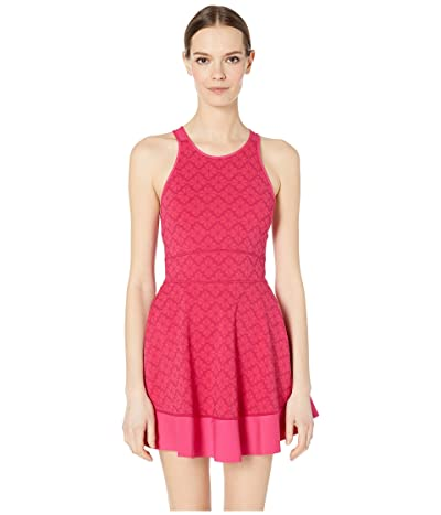 Kate Spade New York Athleisure Floral Spade Tennis Dress (Kinetic Pink) Women