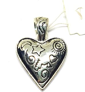 Heart Retired Silver Pendant