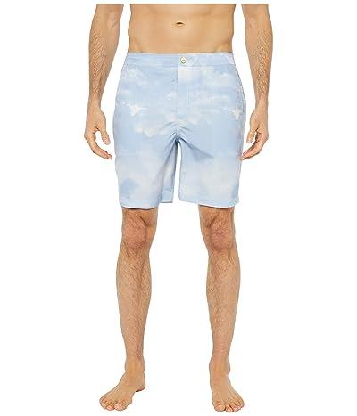 onia Calder 7.5 Swim Shorts (Sky Blue) Men