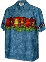 Pacific Legend Hawaiian Tiki Men's Aloha Shirt
