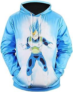 Hoodies Goku 3D Print Sudaderas Anime Sweatshirt Dragon Ball Jacket Pullover 2w