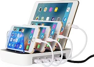 NEXGADGET Detachable Multi-Port USB Charging Station, 24W 4-Port USB Charging Dock