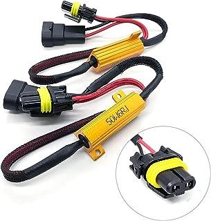 O-NEX LED Resistor Kit HB4 9006 HID Relay Harness Adapter Anti Flicker Error Decoder Warning Canceller (fits: 9005, 9145, H10)