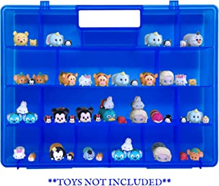 Life Made Better, Durable Protective Blue Organizer, Toy Storage, Compatible with Tsum Tsum Mini Toys, Case