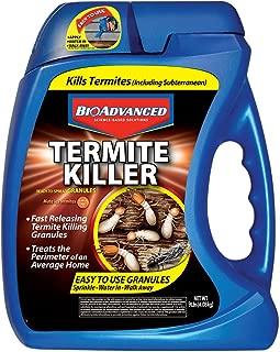 BioAdvanced 700350A Termite Killer Home Perimeter Treatment Ready-to-Spread Granules, 9-Pounds