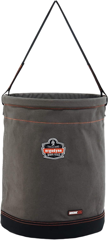 Ergodyne Arsenal 5935 X-Large Max 80% OFF Bucket Canvas Tool Gray 2021new shipping free