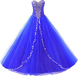 JAEDEN Wedding Sweetheart Long Quinceanera Dresses Formal Prom Dresses Ball Gown