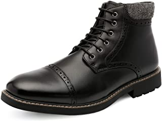 Sponsored Ad - Bruno Marc Men's Dress Ankle Boots Cap Toe Oxford Boot
