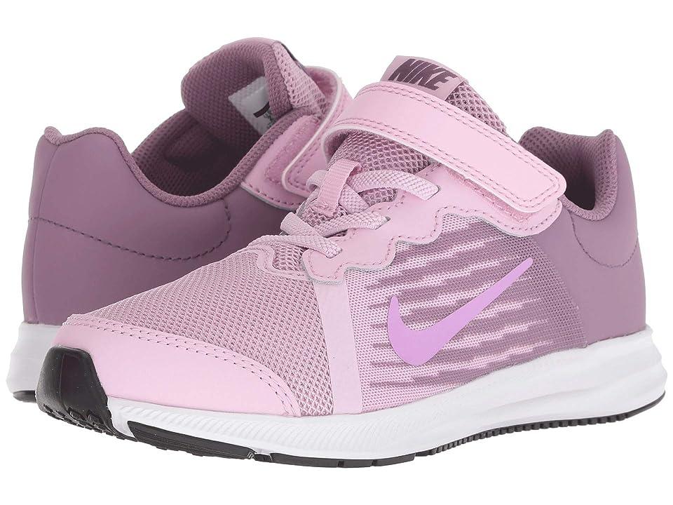 Nike Kids Downshifter 8 (Little Kid) (Light Arctic Pink/Fuchsia Glow/Violet Dust) Girls Shoes