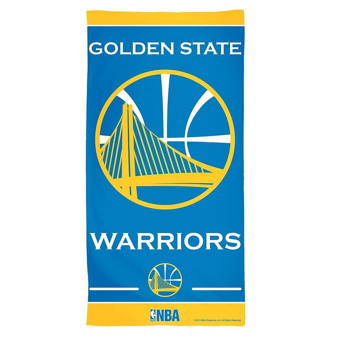 完了教育する呼び起こすNBA Golden State Warriorsファイバービーチタオル、30?x 60インチ、マルチカラー