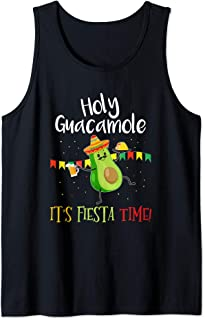 Holy Guacamole Its Mexican Fiesta Time Cinco de Mayo Party Tank Top