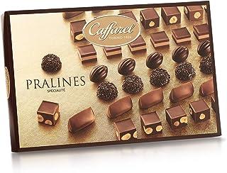 Caffarel Fine Pralines Gift Box - Italian Assorted Hazelnut Milk Chocolate, 220g (7.76 OZ)