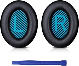 Professional Bose Headphones Ear Pads Cushions Replacement - Earpads Compatible With Bose QuietComfort 15 QC15 QC25 QC2 QC35/ Ae2 Ae2i Ae2w SoundTrue & SoundLink (Around-ear Series Only)