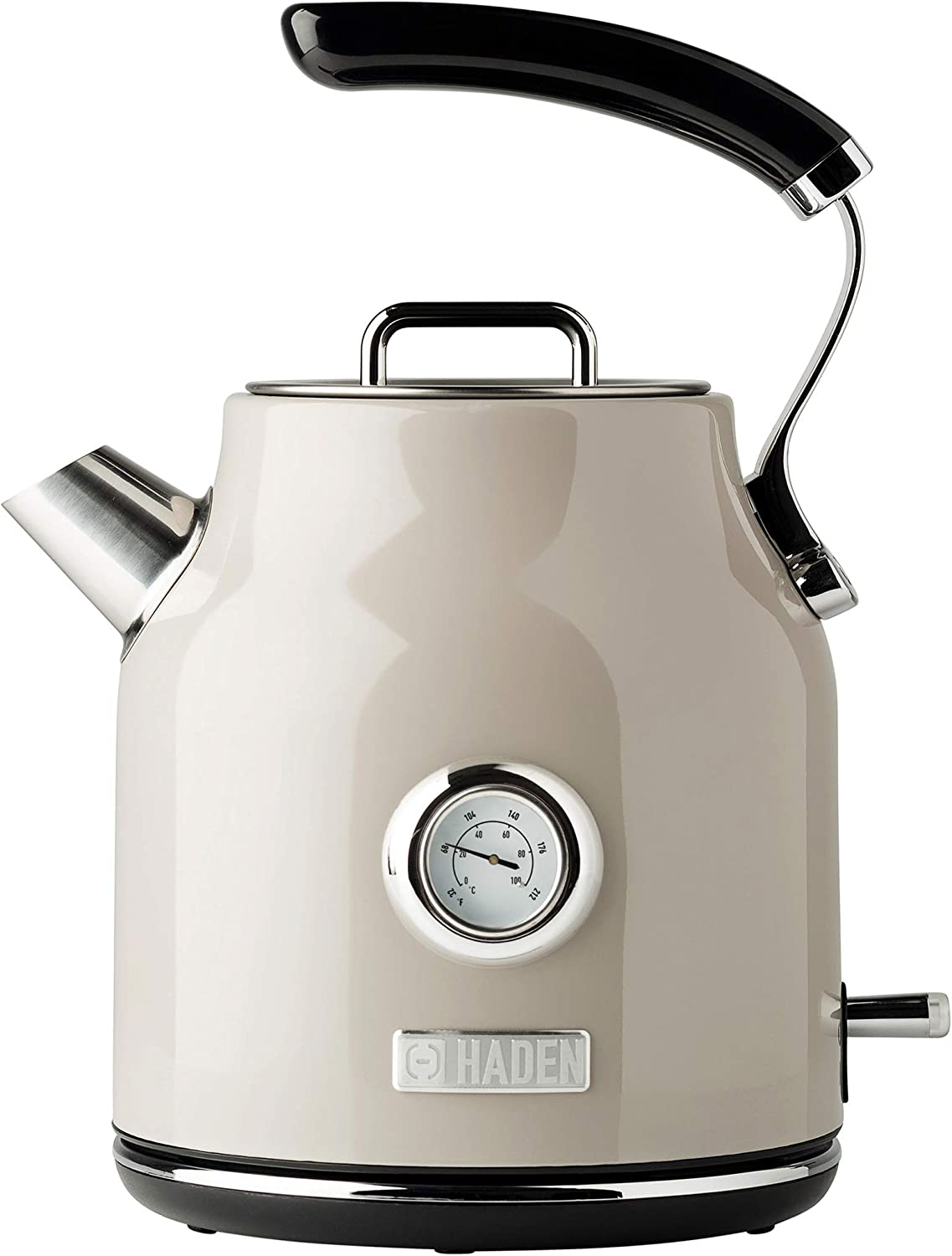 Haden DORSET 1.7 Complete Free Shipping Litre Stainless specialty shop Retro Electric Steel wit Kettle