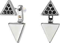Rebecca Minkoff - Two Part Triangle Earrings 16