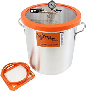 10 Gallon Vacuum & Degassing Chamber (Assembled In USA, Contains Domestic Components)