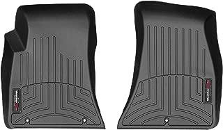 WeatherTech Custom Fit FloorLiner for Dodge Challenger -1st Row (Black)