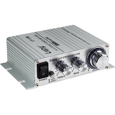 LEPY LP-V3S pequeño Amplificador HiFi para Coche, PC, Casa, Corriente DC 12V