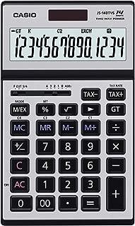 Casio JS-140TVS-SR Heavy Duty Calculator, 0.205 kilograms