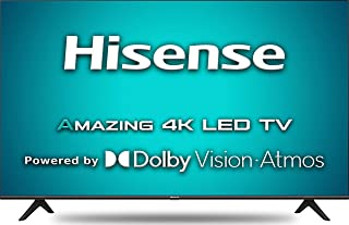 Hisense 126 cm (50 inches) 4K Ultra HD Smart Certified Android LED TV 50A71F (Black) (2020 Model) | with Dolby Vision and ...