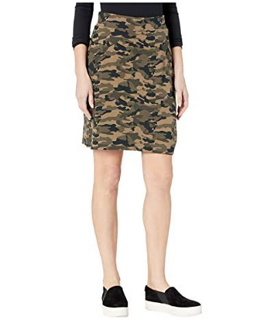 Jag Jeans Ashley Pull-On Ponte Camo Skort (Camouflage) Women
