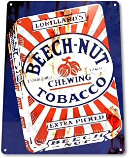 Best beech nut tobacco sign Reviews
