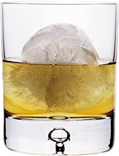 Stylish European Design Crystal Glasses By Ravenscroft Crystal- Premium Bourbon, Whisky, Double Old Fashioned Glasses- Set of 4-11oz - Perfect Gift For Scotch Lovers- BONUS Microfiber Cleaning Cloth