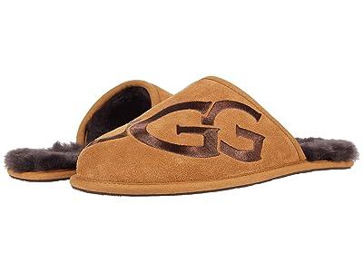 UGG Scuff Logo (Chestnut/Espresso) Men