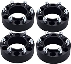 DCVAMOUS 2 Inch 6x5.5 Hubcentric Wheel Spacers Adapters with 12x1.5 Studs for 6 Lug Toyota 4Runner,Tundra,FJ Cruiser,Tacoma,Sequoia(4PC, 50MM Thick)