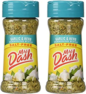 Mrs. Dash Garlic & Herb All Natural Seasoning Blend 2.5 oz - Pack of 2