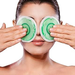 Icewraps Reusable Gel Packs for Icing Injuries, Wisdom Teeth Ice Pack, Stye Treatment, Dry Eye Moist Heat Compress 2 Pack