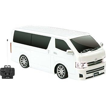 トヨタ ハイエース ラジコン フルファンクションR / C 27MHz ライト点灯 ホワイト