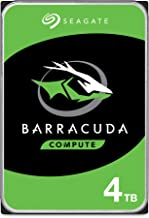 Seagate BarraCuda 4TB Internal Hard Drive HDD – 3.5 Inch Sata 6 Gb/s 5400 RPM 256MB Cache for Computer Desktop PC Laptop (...