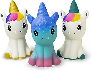 Super Slow Rising Squishies Pack. Squishy Unicorns 4.8