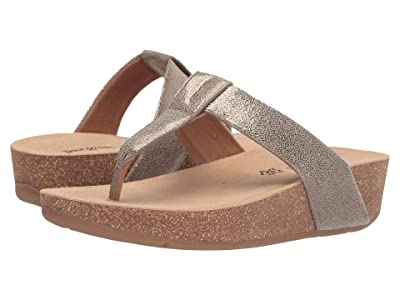 Paul Green Aries Thong Sandal (Earth Venus Metallic) Women