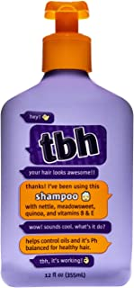 TBH Kids Shampoo - Oil Controlling Shampoo - Sulfate, Paraben Free - 12 oz