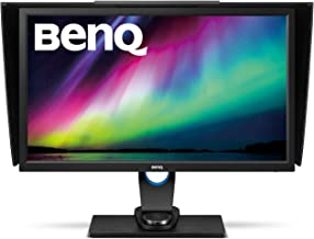 BenQ SW2700PT 27 Inch QHD 1440P IPS Photography Monitor   Aqcolor technology for Accurate Reproduction   Hotkey Puck Effic...