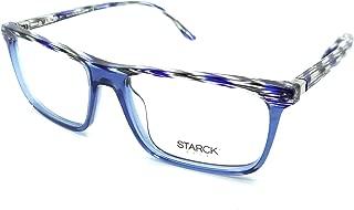 Starck Eyes Mikli Rx Eyeglasses Frames SH3038 0003 54-16 Blue Grey Transparent
