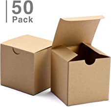 GSSUSA Small Gift Boxes 50Pack 4x4x4