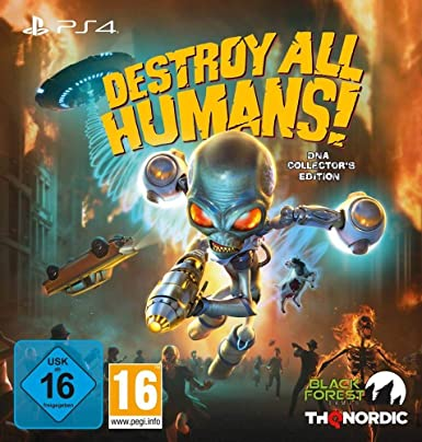 Destroy All Humans! DNA Collector's Edition - PS4