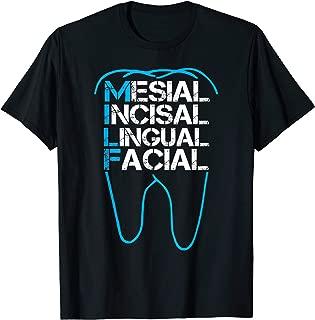 Funny Dental Shirt MILF Mesial Incisal Lingual Facial Shirt
