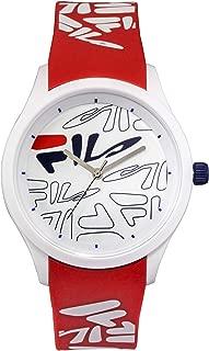 Fila - mindblower - reloj Mens Analog Quartz Watch with Silicone bracelet 38-129-206