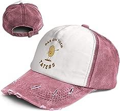 Fashion Vintage Hat Dab On Them Taters Adjustable Dad Hat Baseball Cowboy Cap